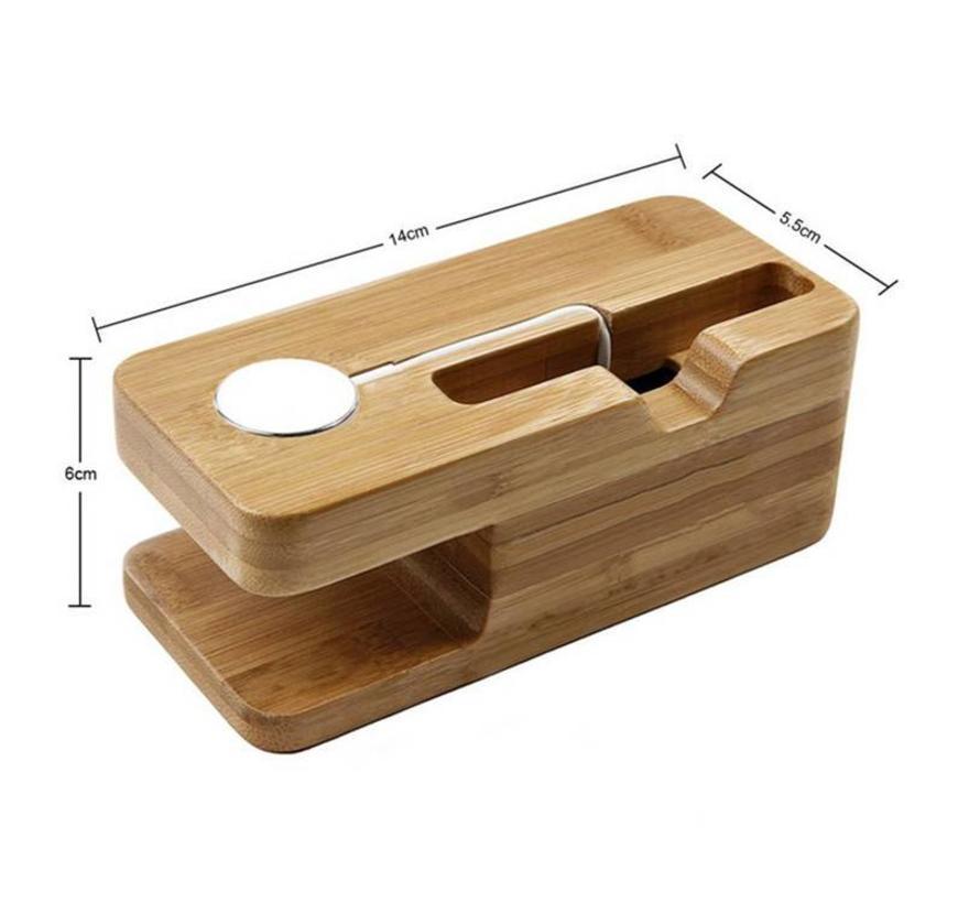 Apple Watch Holz Dock 2 in 1