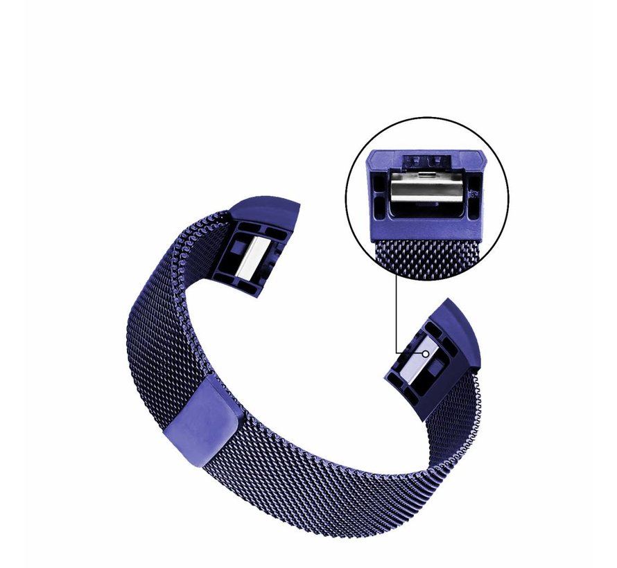 Fitbit charge 2 milanese band - blau