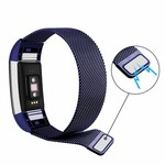 123Watches.nl Fitbit charge 2 milanese band - blau