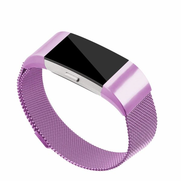 123Watches Fitbit charge 2 milanese band - lavendel