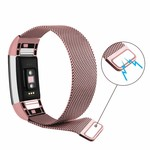 123Watches.nl Fitbit charge 2 milanese band - roze