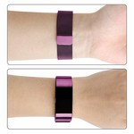123Watches Fitbit charge 2 milanese band - purple