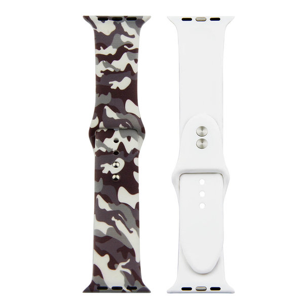 123Watches Apple watch print sport band - camouflage