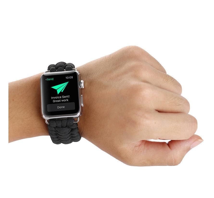 Apple watch nylon rope band - grijs