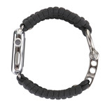 123Watches Apple watch nylon rope and - gris