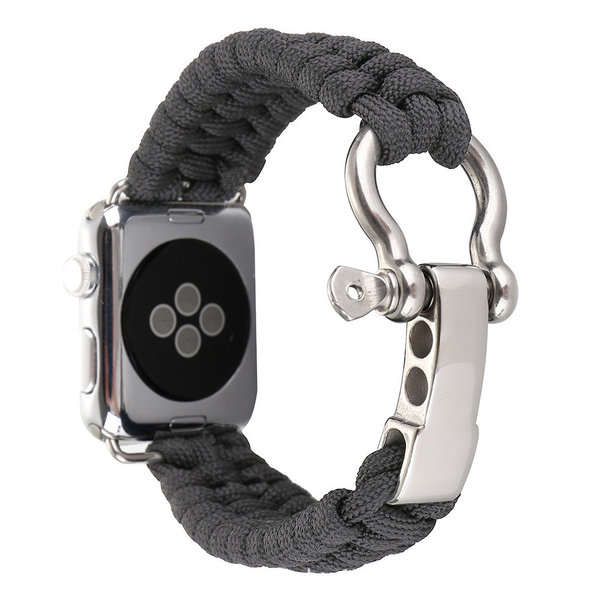 123Watches Apple watch nylon rope band - gray