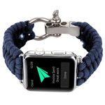 123Watches Apple watch nylon rope band - blue
