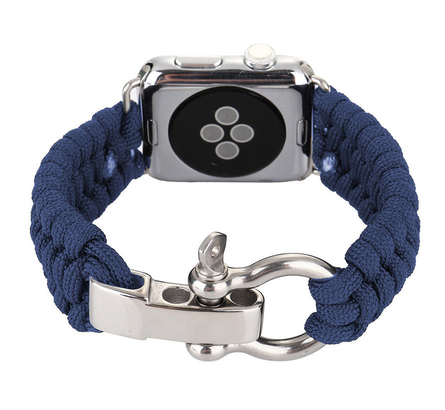 Apple watch nylon rope band - blau
