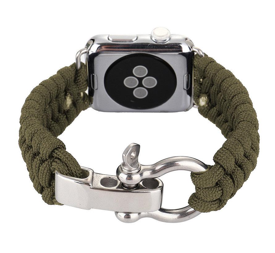 Apple watch nylon rope band - groen