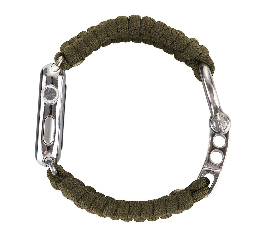 Apple watch nylon rope band - grün