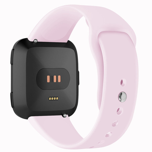 123Watches Fitbit versa silicone band - pink