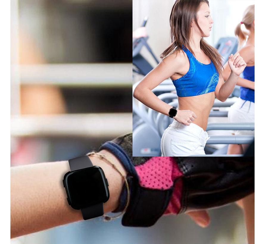 Fitbit versa sport band - zwart
