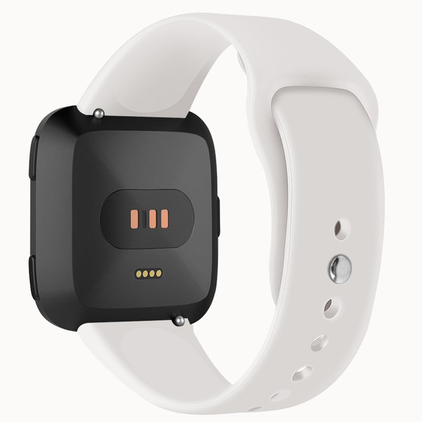 123Watches.nl Fitbit versa silicone band - apricot