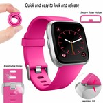 123Watches Fitbit versa sport band - rose