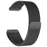 123Watches Fitbit versa milanese band - black