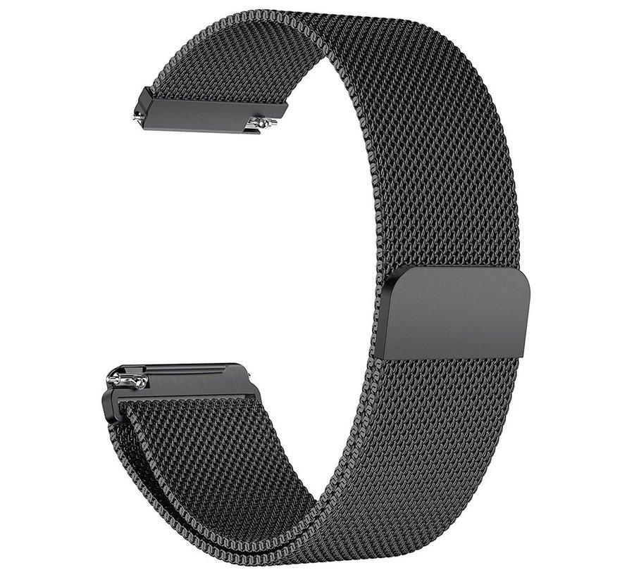 Fitbit versa milanese band - black