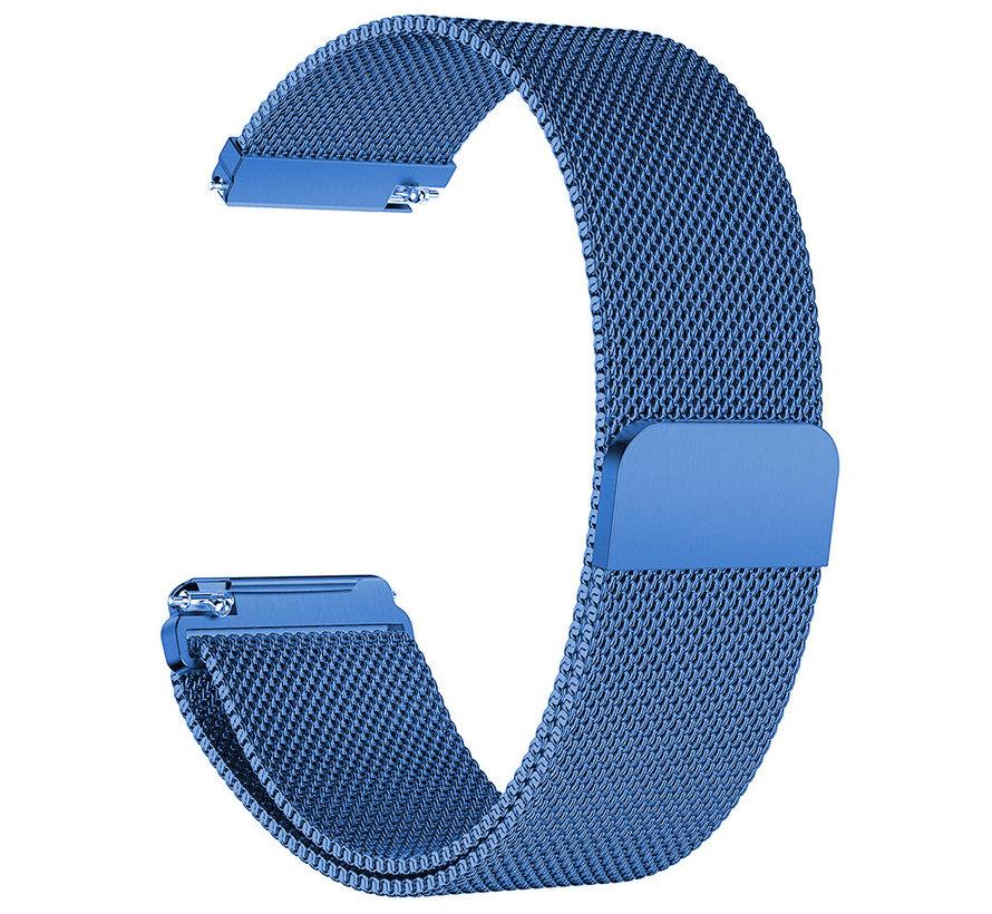 Fitbit versa milanese band - blauw
