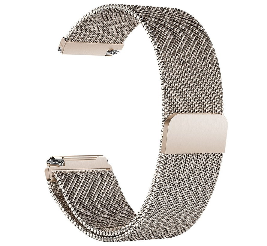 Fitbit versa milanese band - champagne
