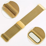 123Watches.nl Fitbit versa milanese band - goud
