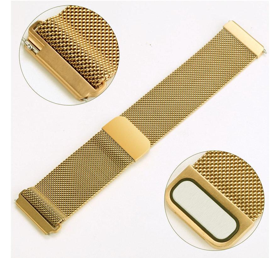 Fitbit versa milanese band - goud