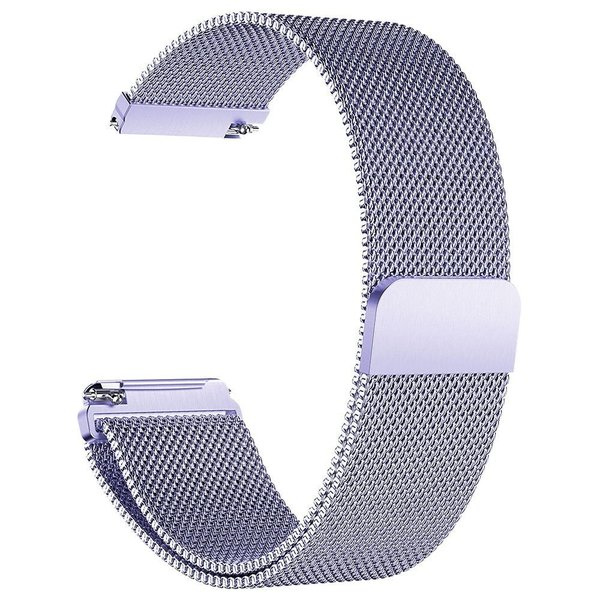 123Watches.nl Fitbit versa milanese band - lavendel