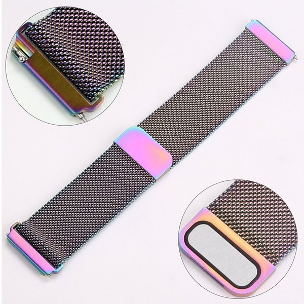 123Watches.nl Fitbit versa milanese band - bunt