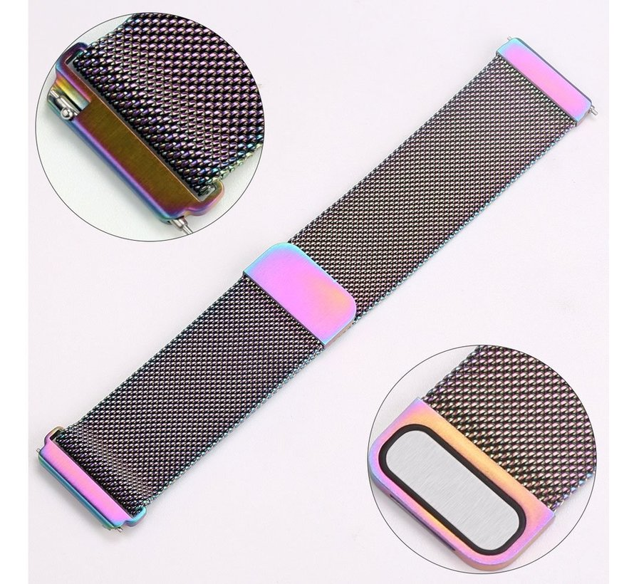 Fitbit versa milanese band - colorful