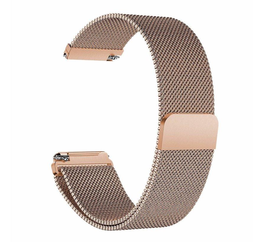 Fitbit versa milanese band - rose goud