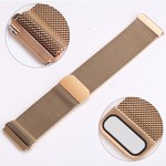 123Watches.nl Fitbit versa milanese band - rose gold