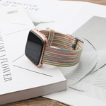 123Watches Fitbit versa nylon gesp band - kleurrijk