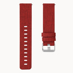 123Watches.nl Fitbit versa nylon gesp band - red