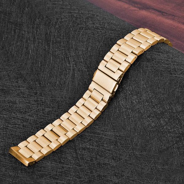 123Watches Fitbit versa bande en acier 3 perles - or rose