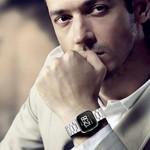 123Watches Fitbit versa 3 kralen stalen schakel band - zilver
