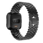 123Watches.nl Fitbit versa fisch stahlgliederband - schwarz