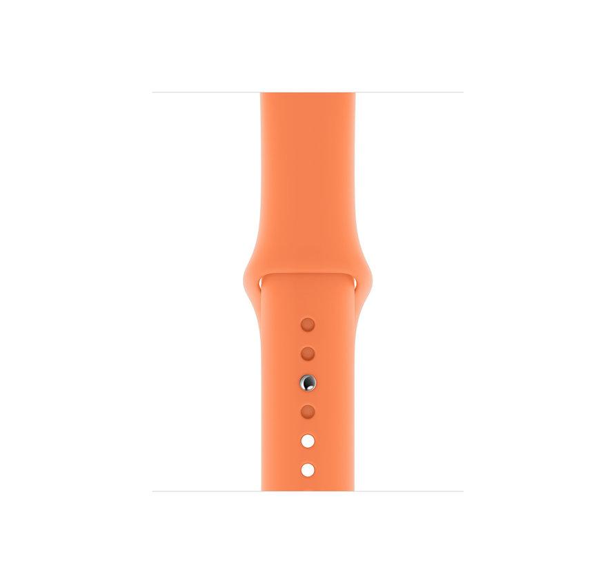 Apple watch sport band - papaya