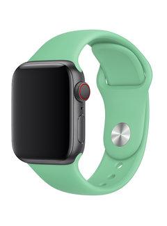 123Watches.nl Apple watch sport band - grüne Minze