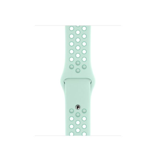 123Watches.nl Apple watch double sport band - teal tint tropical twist