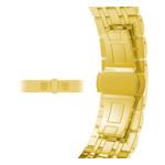 123Watches Apple Watch lien en acier inoxydable sangle - or
