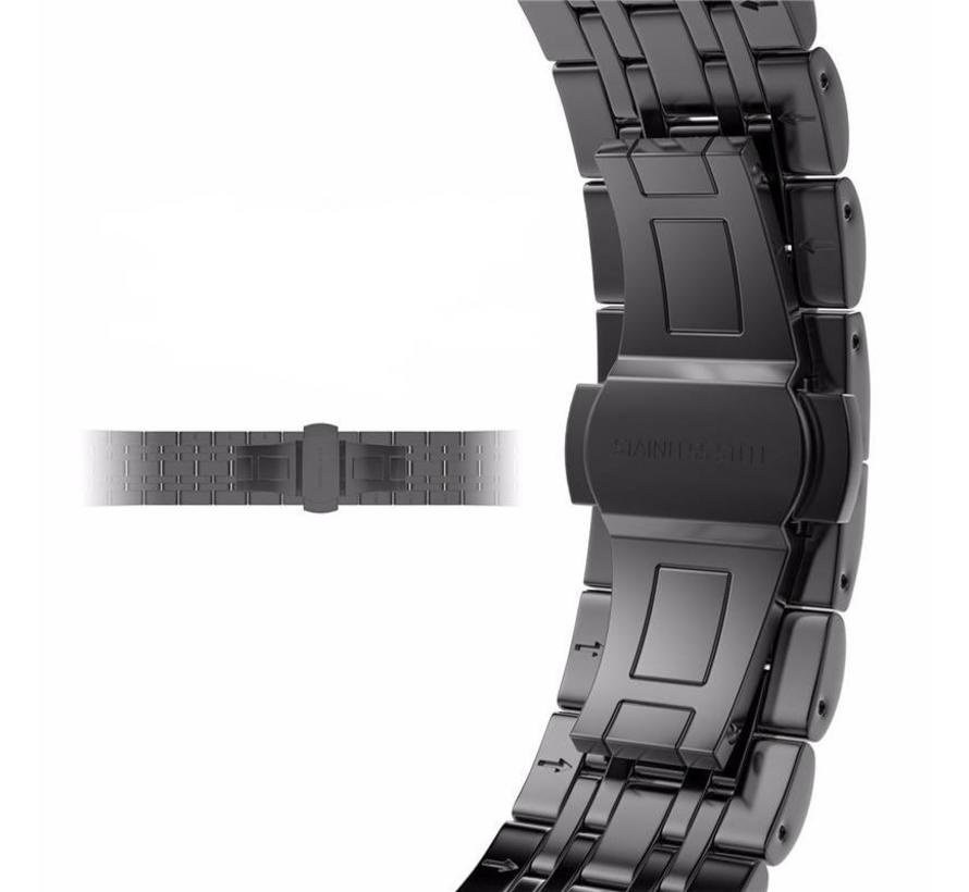 Apple watch stainless steel link band - black