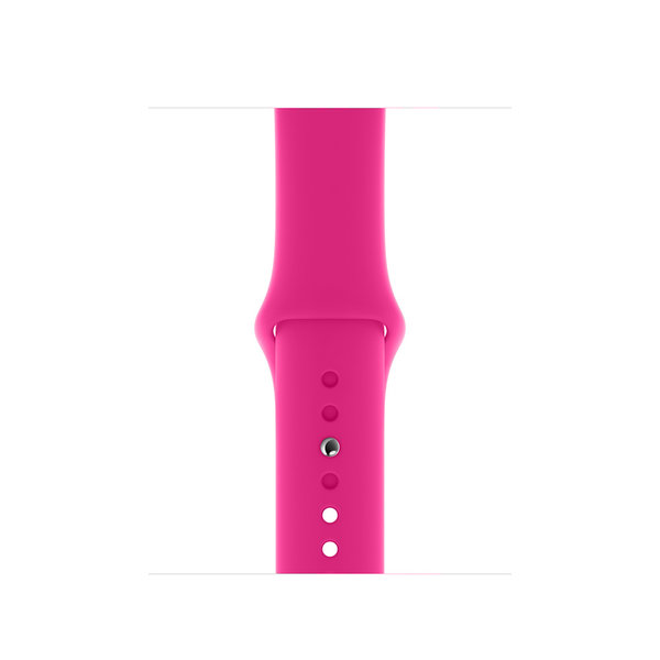 123Watches.nl Apple watch sport band - hot pink