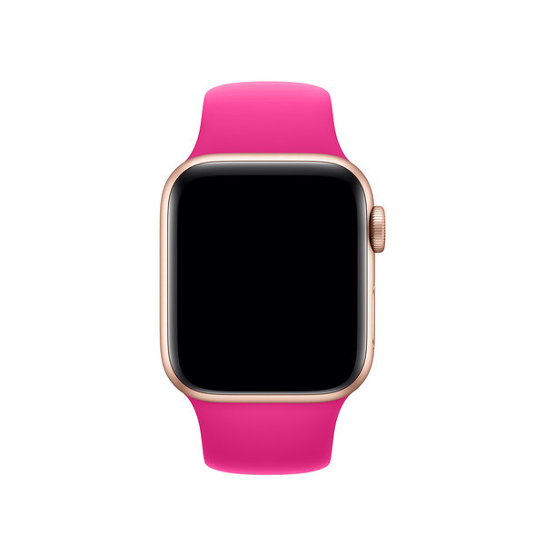 123Watches Apple Watch sport sangle - rose vif
