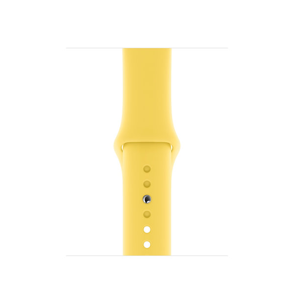 123Watches.nl Apple watch sport band - canary yellow