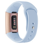 123Watches Fitbit charge 3 & 4 sport silicone band - lichtblauw