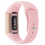123Watches.nl Fitbit charge 3 sport silicone band - roze