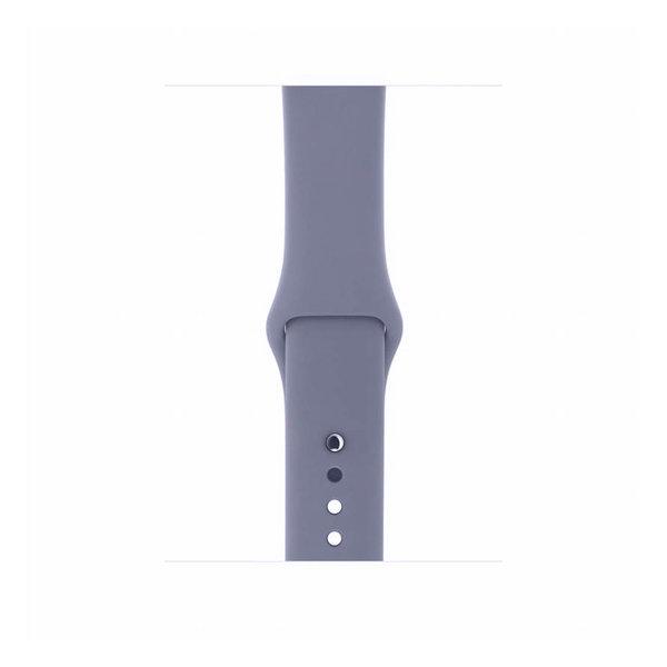 123Watches Apple watch sport band -  lavendel grijs