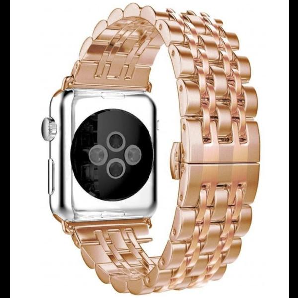123Watches Apple watch rvs schakel band - rose goud