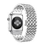 123Watches Apple watch draak stalen schakel band - zilver