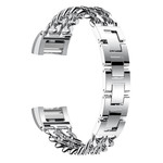 123Watches Fitbit charge 2 cowboy steel link - silver