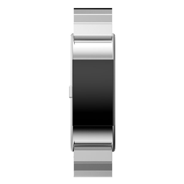 123Watches.nl Fitbit charge 2 stalen schakel band - zilver