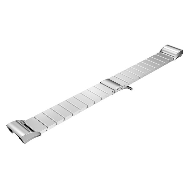 123Watches Fitbit charge 2 steel link - silver